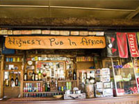 Highest Pub In Africa - Lesotho